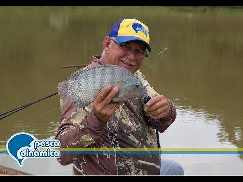 Pesca de Tilápias no Recanto da Família