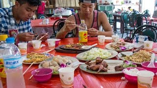 Beitou Hot Springs Tour And HUGE Countryside Taiwanese Chinese Food Feast! (Day 7)