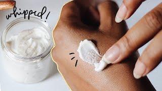 DIY BODY SCRUB | Whipped Sugar Scrub Recipe