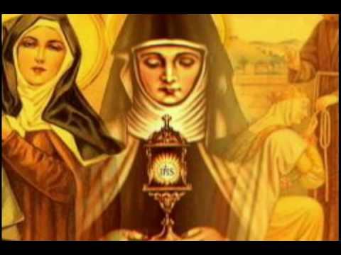 Santa Clara De Asís Oración Catoliscopiocom