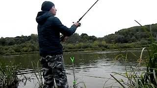 Ловля леща в октябре на реке фидером