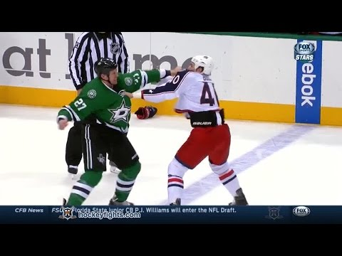 Travis Moen vs. Jared Boll