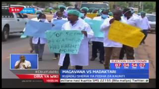 Barasa la magavana watoa wito kwa seneti huenda madaktari wakagoma