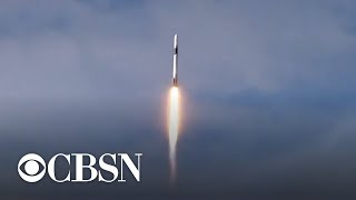 SpaceX launches Falcon 9 rocket with cargo — and slime — bound for space station