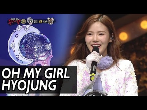 King of masked singer] 복면가왕 - 'elephant young girl' 2round