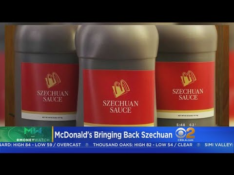 McDonalds Says They Will Bring Back More Szechuan Sauce