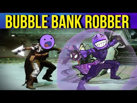 STEALING Enemy Motes w/ Ward Of Dawn - Bank Robber Build #2 - Destiny 2 Gambit Prime