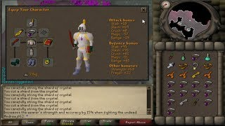 2007 Haunted Mine Quest Boss Epic Fight (OSR)