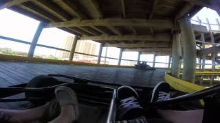 Logan and Dustin vs Shelby and Danny pub go carts