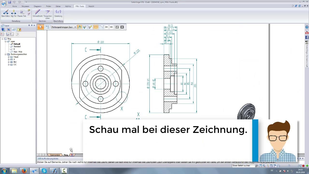 Vorschaubild: PBU-Tool für Solid Edge: Dimension Editor