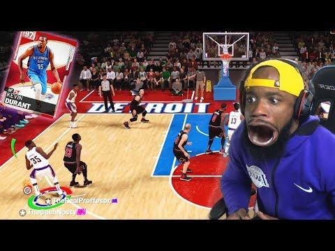 0.3 Seconds Left Pink Diamond Kevin Durant Buzzer Beater! NBA 2K19