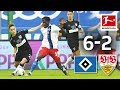 8-Goal Spectacle in Hamburg - Hamburger SV vs. VfB Stuttgart I 6-2 I All Goals