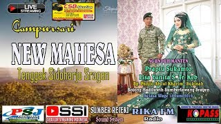 Live Streaming Campursari NEW MAHESA/SUMBER REJEKI Sound/RIKA FM CSB VIDEO