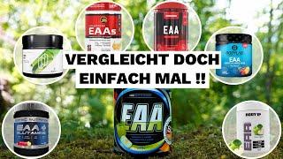 Enorme Qualitätsunterschiede! - EAA Vergleich 2.0 | Fitness Food Corner