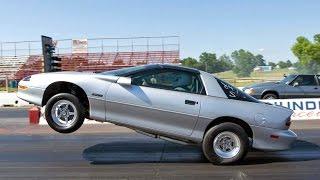 WHEELIE Camaro @ Street Car Takeover OKC!