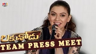 Luckunnodu Team Press Meet - Vishnu Manchu, Hansika Motwani - Raaja Kiran