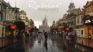 Hurricane At Walt Disney World   Magic Kingdom Closed