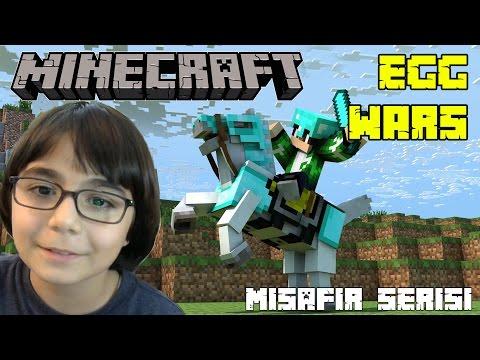 Minecraft Egg Wars Misafirlerimle Eğlendik - BKT