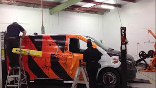 Mercedes Vito wrap for Triple M