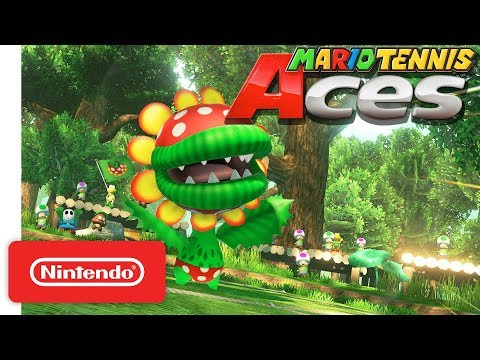 Petey Piranha - Nintendo Switch de Mario Tennis Aces