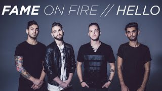 """Adele - Hello [Band: Fame On Fire] (Punk Goes Pop Style Cover) """"Post-Hardcore"""""""