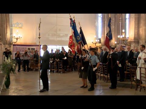 75e anniversaire de la libération de Paris : Messe à l'église Saint-Eustache