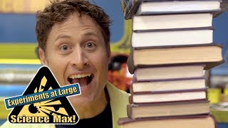 Science Max   BALANCING BOOKS   Kids Science   Experiments