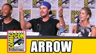 ARROW Cast Sings