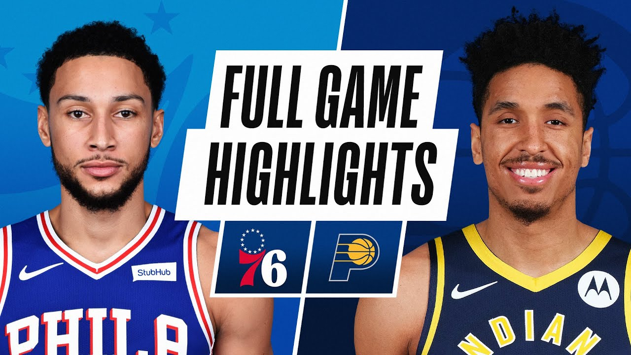 76ers vs Pacers | Sunday, January 31, 2021