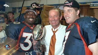 Terrell Davis & Shannon Sharpe share their excitement for Owner Pat Bowlen