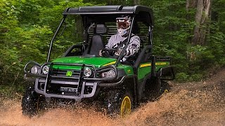 test ride 2015 john deere gator 825i vidinfo. Black Bedroom Furniture Sets. Home Design Ideas
