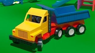 Big Trucks & Vehicles. Cartoons for Kids. Learn numbers [video xe tải lớn/큰 트럭] ABC 123 农行