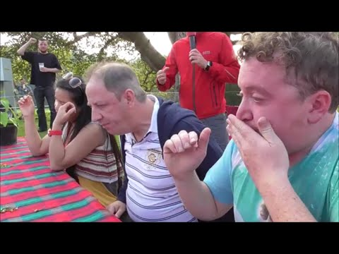 Chilli Eating Contest | Scotland Chili Festival Scone Palace | Sunday 21st Sept 2014
