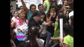 EL GRAN SHOW DE LATELE| FAN DE MARILINA Y NADIA LA KCHORRA NO DEJAN ENTRAR A LOS ESTUDIOS DE LATELE