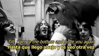 Helter Skelter  - The Beatles (LYRICS/LETRA) [Original]