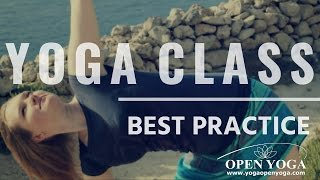 Beginners, get ready for the first yoga class!  Basic YOGA POSES for YOGA CLASS 10 minutes at home!