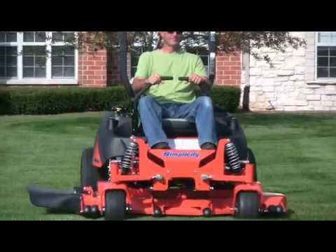 2019 Simplicity Cobalt 28/61 in. Zero Turn Mower in Fond Du Lac, Wisconsin - Video 1