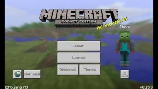 Como jugar los juegos del hambre,Skywars en Minecraft pe 0.15.3 0.15.0 explicado
