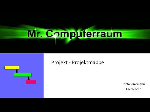 Projektprüfung Mappengestaltung