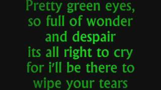 Ultrabeat -  Pretty green eyes Lyrics