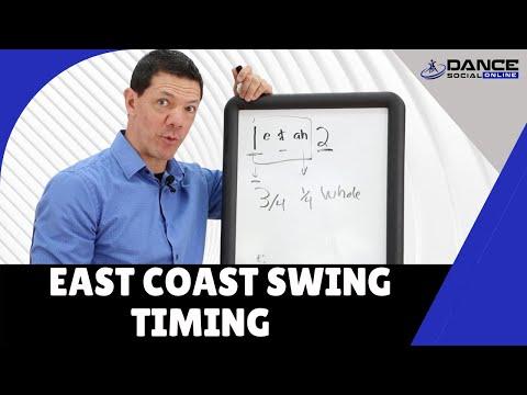 East Coast Swing Dance Basic Timing | Swing Dance Basics