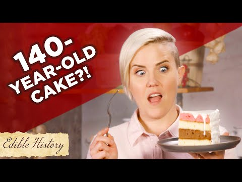 I TRIED A 140-YEAR-OLD CAKE RECIPE • TASTY