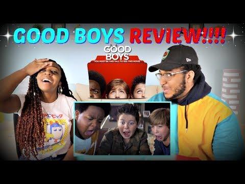 GOOD BOYS MOVIE REVIEW (SEMI-SPOILERS)!!!