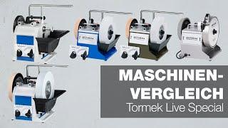 Der große Maschinenvergleich   Tormek Live