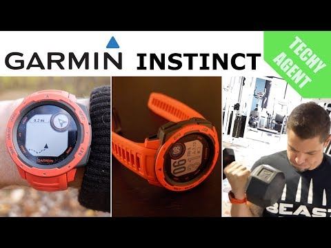 Garmin Instinct – Full Fitness and GPS Review!