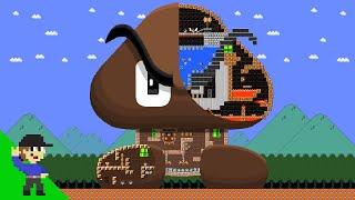 Level UP: Mario vs the Giant Goomba Maze