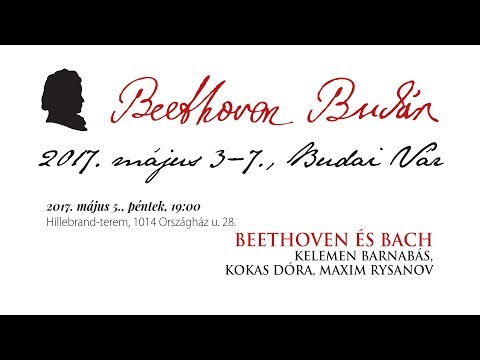 Beethoven Budán 2017 - Beethoven és Bach - video preview image