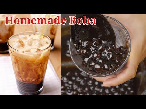 Cara Buat Homemade Boba Pearl Dan Hasilkan 3 Jenis Boba Milk Drink