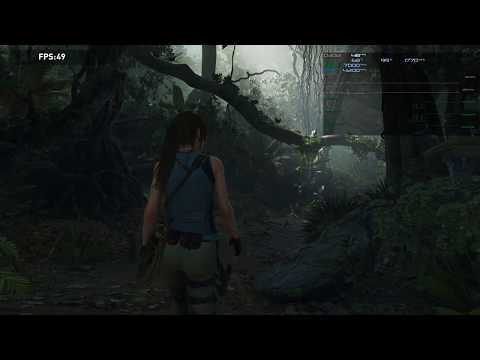 Shadow of the Tomb Raider Benchmark RTX 2080 Ti 1440p