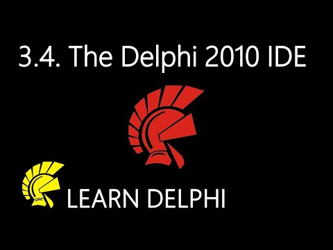 Delphi Programming Tutorial – Unit 3.4: The Delphi 2010 Integrated Development Environment